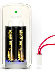 nffu NF-LC1 bateria de lítio bis 1.5v 750mAh 3 pacote