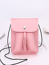 Women Shoulder Bag PU All Seasons Casual Formal Office & Career Messenger Snap Red Blushing Pink Apricot Gray Wine