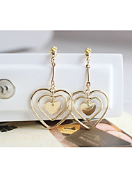 Non Stone Drop Earrings Earrings Set Jewelry Daily Casual Alloy 1 pair Yellow Gold