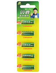 SHUANGLU 27A 12V Battery Alkaline 5 Pack