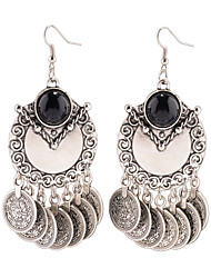 Dangle Earrings Jewelry Alloy Dangling Style Pendant Tassel Tassels Punk Personalized Euramerican Statement Jewelry Jewelry Silvery