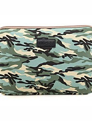 for Touch Bar Macbook Pro 13.3/15.4 Macbook Air 11.6/13.3 Macbook Pro 13.3/15.4 Camouflage Design Shockproof Laptop Sleeve Bag