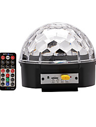 U'King® DMX512 Bluetooth TF Card MP3 Speaker Crystal Magic Ball Stage Light with Remote Control 1pcs