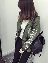 Signes spot femme coupe-vent manteau féminin printemps étudiants coréens loose manteau manches longues coupe courte harajuku style veste