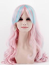 New fashion natural color black short paragraph Qi Liu straight hair high temperature wire wig