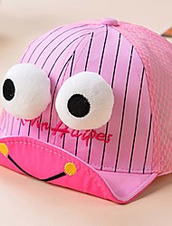 Children's Lovely Fashionable Stripe sSoft Tongue Hat Shading Along The Letter Baseball Cap