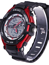 Men's Sport Watch Dress Watch Fashion Watch Digital Watch Wrist watch Large Dial Digital Silicone Band Charm Multi-Colored