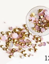75 Decoración de uñas Las perlas de diamantes de imitación maquillaje cosmético Dise?o de manicura
