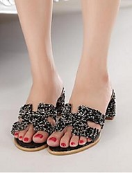 Women's Slippers & Flip-Flops Comfort PU Casual Low Heel
