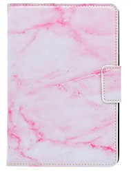 Case For iPad Mini 4 With Stand IMD Flip Case Full Body Case Marble Hard PU Leather Mini 3/2/1 (Screen Protector as Freebie)