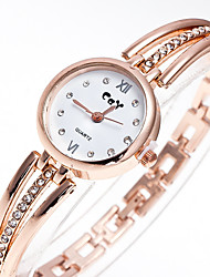 Women's Small Metal Chain Set Auger Literally Stainless Steel Strap British Wind Litchi Grain Quartz Watch