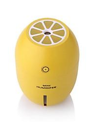Mini umidificador de limão noite umidificador luz do quarto doméstico criativo usb umidificador