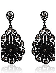 Women's Drop Earrings Crystal Pendant Costume Jewelry Bohemian Crystal Alloy Geometric Jewelry For Party Daily Casual