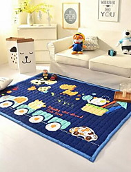 Casual Polyester Cotton Blend Area Rugs Thicken Baby Crawling Mat 140*195