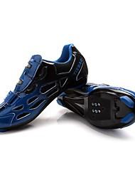 Sapatos para Ciclismo Unisexo Respirável Vestível Fivela Courino Ciclismo