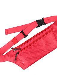 0.1 L Waist Bag/Waistpack Wallet Cell Phone Bag Wristlet Bag Handbag Belt Pouch/Belt Bag Travel Organizer Pack PocketsYoga Hunting