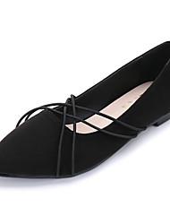 Women's Flats Spring Comfort Suede Dress Flat Heel
