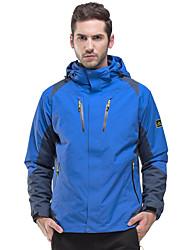 LEIBINDI®Men's Winter Jacket 3-in-1 Jackets Skiing Climbing Outdoor Sport Hiking Snowsports Waterproof Windproof Thermal / Warm Windproof Coat