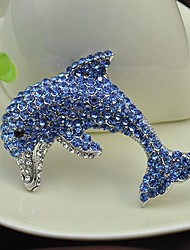 Women's Girls´ Brooches Rhinestone Animal Design Rhinestone Jewelry Jewelry For Party Special Occasion Daily Casual