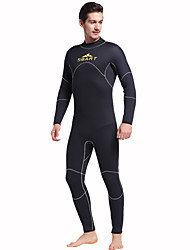 Sports Men's 5mm Full Wetsuit Breathable Quick Dry Anatomic Design Rubber Diving Suit Long Sleeve Diving Suits-DivingSpring Summer