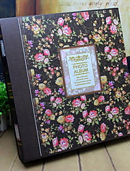 Photo Album Floral/Botanicals Retro