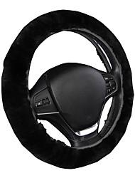 Dirección autoyouth de lujo cubre la cubierta superior del volante de las lanas cabida universal el coche 14-15 que labra el estilo