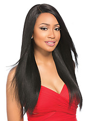 Long Straight Human Hair Lace Wigs 16-22inch Lace Front Human Hair Wigs