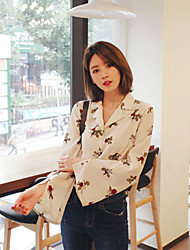 NEW ITEMZ Korea ladies wild wind lapel shirt shirt