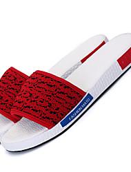 Men's Sandals Spring Summer Comfort Tulle Outdoor Casual Low Heel