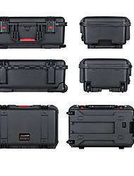 45 L Wasserdicht Staubdicht Stoßfest tragbar Multifunktions Hartschalenkoffer Schwarz