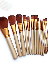 12 Contour Brush Blush Brush Eyeshadow Brush Lip Brush Brow Brush Eyeliner Brush Concealer Brush Powder Brush Foundation Brush Other Brush