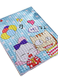 Casual Cotton Area Rugs(150*200cm)(Random Cartoon)