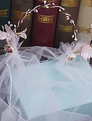 Tulle льняная головка-свадьба специальный случай наружные тиары головные повязки 1 шт.