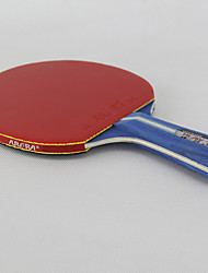 3 Stars Table Tennis Rackets Ping Pang Rubber Short Handle Pimples Outdoor Performance Practise Leisure Sports