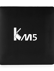 KM5 Amlogic S905X Android TV Box,RAM 1GB ROM 8GB Quad Core WiFi 802.11n Bluetooth 4.0