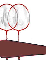 Raquettes de Badminton Etanche Indéformable Durable Stabilité Alliage de fer Une Paire × 2 pour Extérieur Utilisation Sport de détente