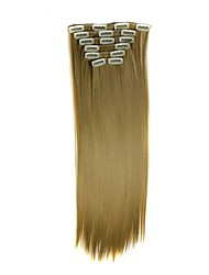 Mit Clip Synthetik Haarverlängerungen Haar-Verlängerung