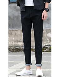 hommes nouveaux neuf points de jeans version coréenne de pantalon slim sauvage jean décontracté mâle pieds 9 pantalons
