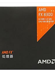 AMD FX 8-жильный черный издание FX-8300 3,3 ГГц с 4,2 ГГц Core турбо окта Processo