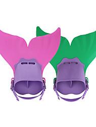 Sets de Masque et tuba Palmes de plongée Paquets de plongée Réglable Palmes Courtes Plongée & Masque et tuba Natation PVC