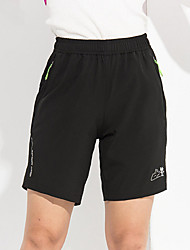 Women's Running Shorts Breathable Quick Dry Ultra Light Fabric Summer Leisure Sports Running PolyesterIndoor Outdoor clothing Performance