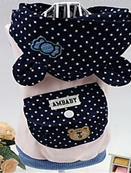 Dog Vest Dog Clothes Spring/Fall Stars Cute