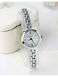 Women's Fashion Watch Simulated Diamond Watch Japanese Quartz Water Resistant / Water Proof Imitation Diamond Alloy Band Charm Cool Casual