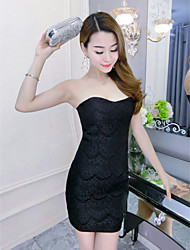 Sign Bra sexy eyelash lace dress package hip dress