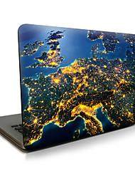 Para o macbook air 11 13 / pro13 15 / pro com retina13 15 / macbook12 a terra na noite descreveu a caixa do portátil da maçã