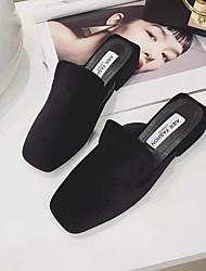Women's Clogs & Mules Comfort Suede Casual Low Heel