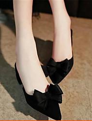 Women's Sandals Spring Comfort PU Casual Chunky Heel Block Heel