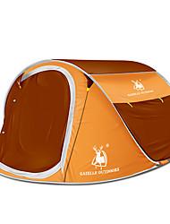 3 a 4 Personas Tienda Doble Carpa para camping Una Habitación Tienda pop up Portátil para Camping Viaje CM