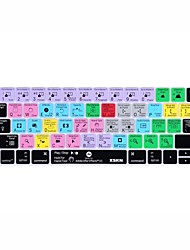 XSKN® After Effects Shortcut Silicone Keyboard Skin for 2016 New MacBook Pro 13.3/15.4 with Touch Bar Retina (US/EU Layout)