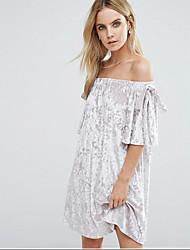 Femmes d'été nouvelle robe à manches courtes et sans manches à manches courtes en Europe et en Amérique